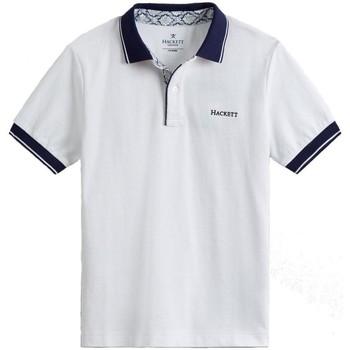 textil Niño Camisetas manga corta Hackett HK561354 Blanco
