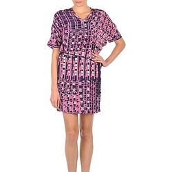 textil Mujer vestidos cortos Stella Forest YRO059 Marino / Rosa