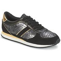 Zapatos Mujer Zapatillas bajas Balsamik LILA Negro / Oro