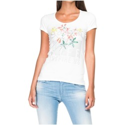 textil Mujer Camisetas manga corta Salsa 117344 Blanco