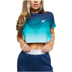 textil Mujer Camisetas manga corta Siksilk SSW-2026 Azul