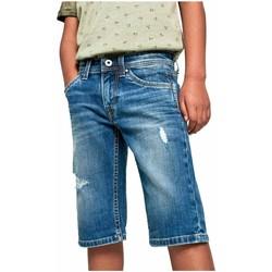 textil Niño Shorts / Bermudas Pepe jeans PB8000524HJ7 Azul