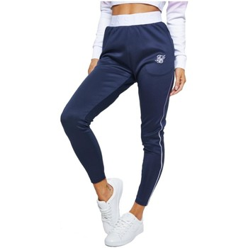 textil Mujer Pantalones Siksilk SSW1979 NAVY Azul
