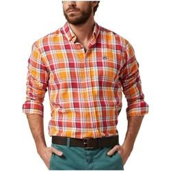 textil Hombre Camisas manga larga Altonadock 121275020015 Naranja