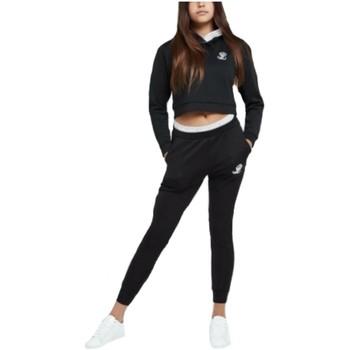 textil Niña Pantalones Illusive London ILG-057 Negro