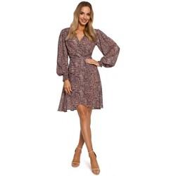 textil Mujer Vestidos cortos Moe M576 Vestido con mangas obispo - modelo 1
