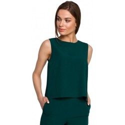 textil Mujer Tops / Blusas Style S257 Blusa sin mangas - azul real
