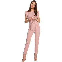 textil Mujer Monos / Petos Style S260 Blusa sin mangas con hombros acolchados - negra