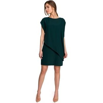 textil Mujer Vestidos cortos Style S262 Vestido a capas - verde