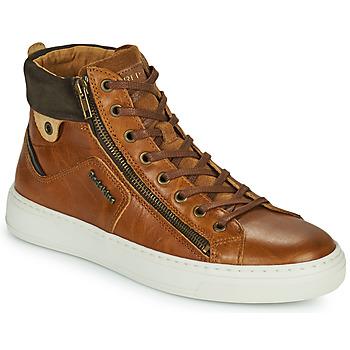 Zapatos Hombre Zapatillas altas Redskins HOPESO Cognac