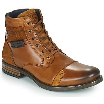 Zapatos Hombre Botas de caña baja Redskins NITRO Cognac
