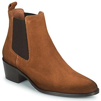 Zapatos Mujer Botas de caña baja Fericelli PAMINA Tan