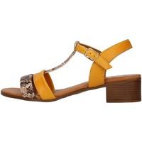 Zapatos Mujer Sandalias Melluso 018826 AMARILLO