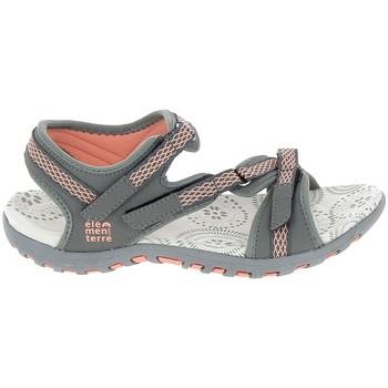 Zapatos Mujer Sandalias de deporte Elementerre Altata Gris Gris