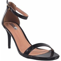 Zapatos Mujer Sandalias Bienve Ceremonia señora  1jb-19367 negro Negro