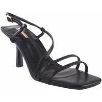 Zapatos Mujer Sandalias Bienve Ceremonia señora  1jb-0317 negro Negro