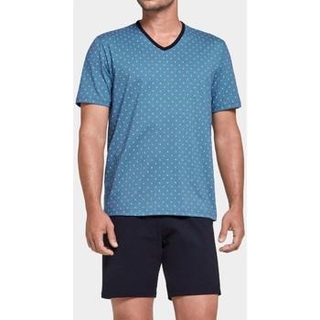 textil Hombre Pijama Impetus Pijama  Bryony Cotton Blue