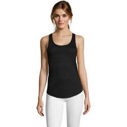 textil Mujer Camisetas sin mangas Sols Camiseta mujer tirantes Negro