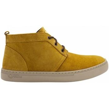 Zapatos Hombre Botas de caña baja Natural World Alpe 6762 Amarillo