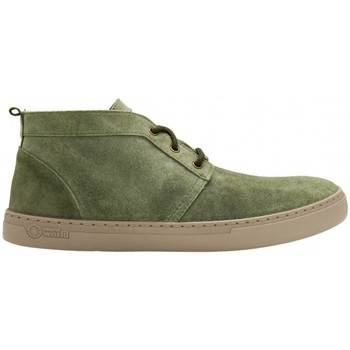 Zapatos Hombre Botas de caña baja Natural World Alpe 6762 Verde