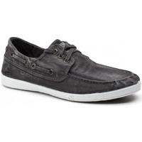 Zapatos Hombre Zapatos náuticos Natural World 303E Negro
