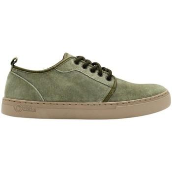 Zapatos Hombre Zapatillas bajas Natural World Miso 6761 Verde