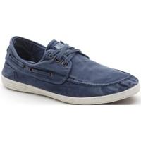 Zapatos Hombre Zapatos náuticos Natural World 303E Azul