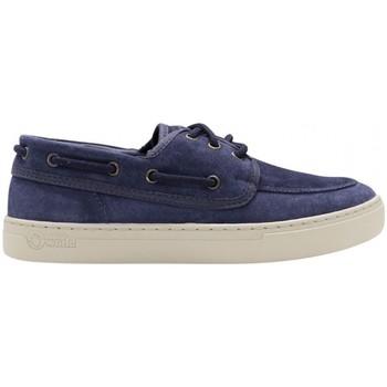 Zapatos Hombre Zapatos náuticos Natural World Toba 6767 Azul