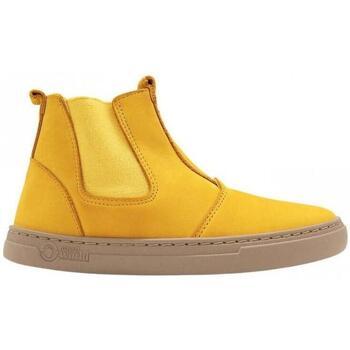 Zapatos Niños Deportivas Moda Natural World Ada 6982 Amarillo