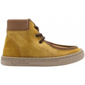Zapatos Niños Deportivas Moda Natural World Nil 6954 Amarillo