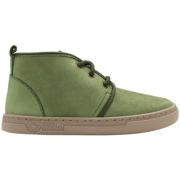 Zapatos Niños Deportivas Moda Natural World Aina 6981 Verde