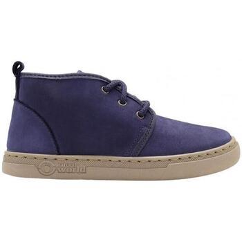 Zapatos Niños Deportivas Moda Natural World Aina 6981 Azul