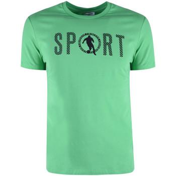 textil Hombre Camisetas manga corta Bikkembergs  Verde