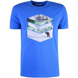 textil Hombre Camisetas manga corta Bikkembergs  Azul
