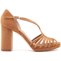 Zapatos Mujer Sandalias Audley GINGER-CUOIO MARRONE