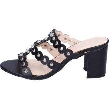 Zapatos Mujer Zuecos (Mules) Silvian Heach BH155 Negro