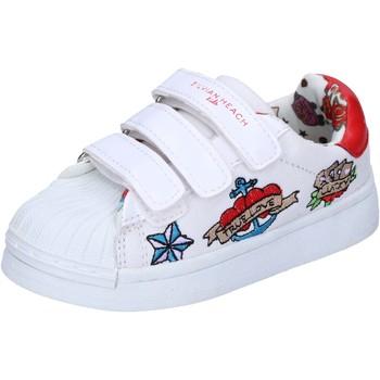 Zapatos Niña Zapatillas bajas Silvian Heach BH156 Blanco