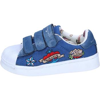 Zapatos Niña Zapatillas bajas Silvian Heach BH157 Azul