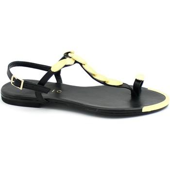 Zapatos Mujer Chanclas Mosaic MOS-E21-M1335-BL Nero