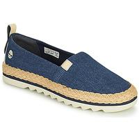 Zapatos Mujer Alpargatas Timberland Barcelona Bay Classic Textile Azul