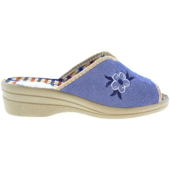 Zapatos Mujer Pantuflas Selquir Zapatillas de Casa  6682542 Aguamar Azul