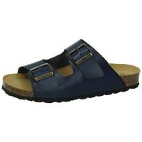 Zapatos Mujer Zuecos (Mules) Biobio Sandalias MARINO