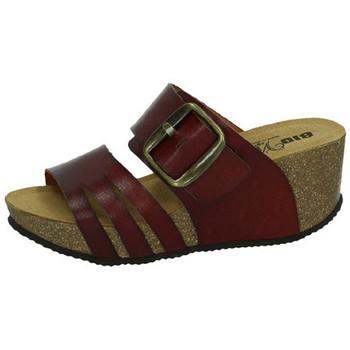 Zapatos Mujer Zuecos (Mules) Biobio Sandalias CUERO