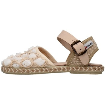 Zapatos Niña Sandalias Superga S07R937 BLANCO