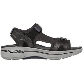 Zapatos Hombre Sandalias Skechers GO WALK ARCH FIT SANDAL MISSION NEGRA NEGRO