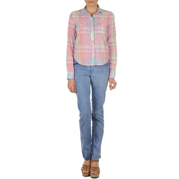 textil Mujer vaqueros rectos Gant DANA SPRAY COLORED DENIM PANTS Azul