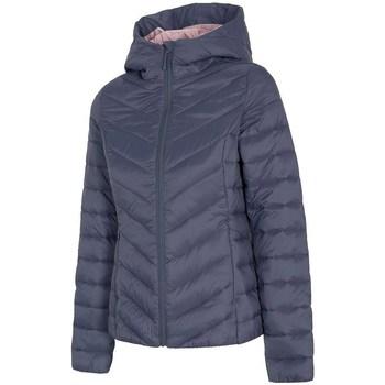textil Mujer Plumas 4F H4L21 KUDP004 Grises
