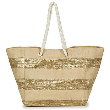Bolsos Mujer Bolso shopping Betty London  Beige / Dorado