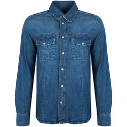 textil Hombre Camisas manga larga Bikkembergs  Azul