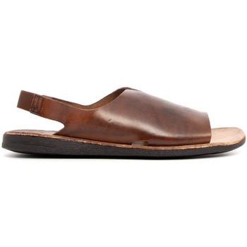 Zapatos Hombre Sandalias Brador 46-777 MARRONE